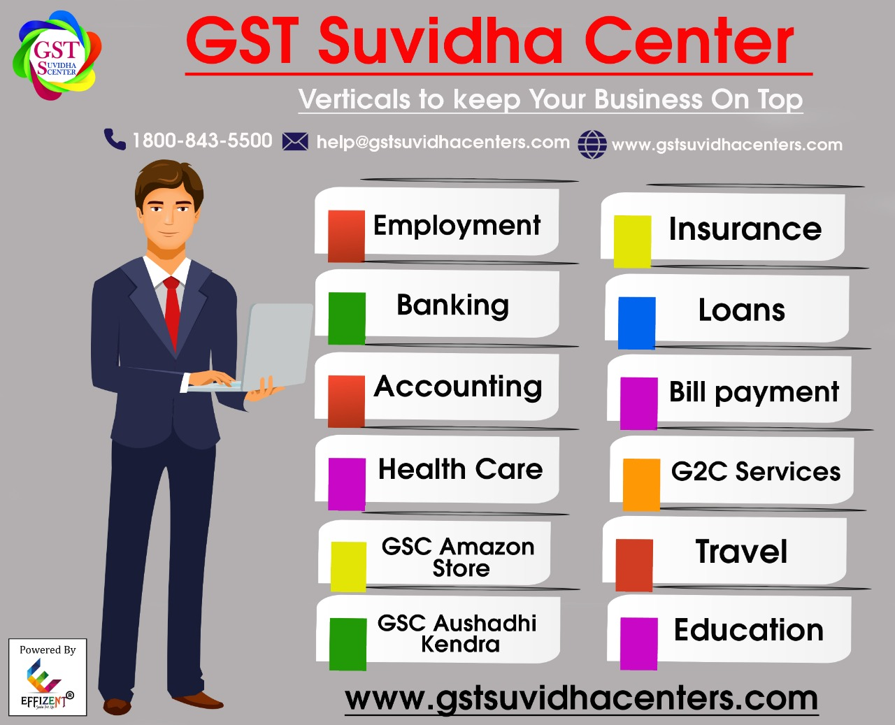 GST Suvidha Center Services